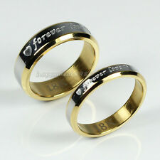 Hot Sale! New Fashion 18K Gold Plated Forever Love Ring For Women/Men+Ring Box