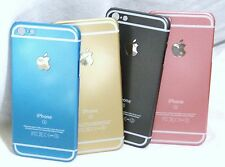 2 SCREEN PROTECTORS + FULL BODY HARD COVER CASE BLUE PINK GOLD GREY IPHONE 5 5s