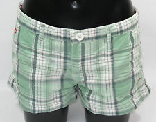 SuperDry Washbasket Boy Short GS7CE26 Panpacific Green + new + size XS + L