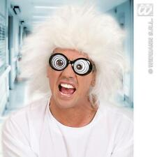 New White Mad Professor Wig Scientist Doc Brown Fancy Dress