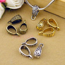 35Pc Tibetan Silver,Gold,Bronze Charm Pendant Bail Connector Fit Bracelet M1101