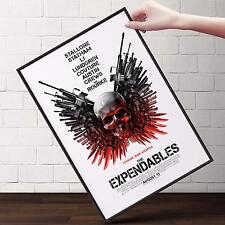 THE EXPENDABLES Movie Poster | Cubical ART | Gifts | FREE Shipping