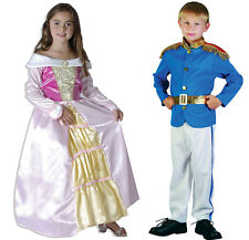 Prince Charming and Princess Costumes Fancy Dress Magical Ball Book Day
