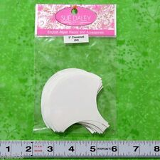 SUE DALEY - ENGLISH PAPER PIECING - CLAMSHELL - 50 x PRE-CUT PAPERS