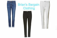 EX M&S COLLECTION LADIES RELAXED SKINNY DENIM JEAN IN 6 COLOURS BNWOT