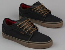 Vans Chukka Low Black/Gum/Flannel Men's Casual Skate Shoes NEW