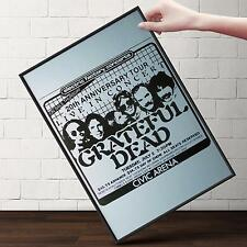 GRATEFUL DEAD Concert Poster | Cubical ART | Gifts | FREE Shipping