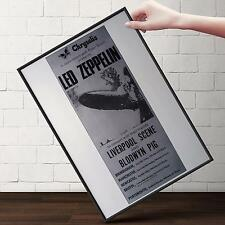 LED ZEPPELIN Liverpool Concert Poster | Gifts For Guys | FREE Shipping