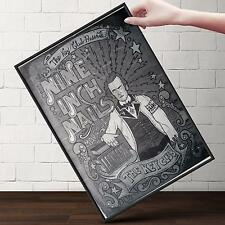 NINE INCH NAILS CONCERT Poster | Cubical ART | Gifts For Guys | FREE Shipping