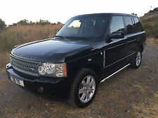 LHD - 2007 - RANGE ROVER VOGUE 3.6 TDV8 4X4 AUTOMATIC - SPAIN - MARBELLA