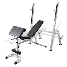New Fitness Multi-station Home Gym Weight Bench Curl Press Incline AB Exercise