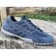 Shoes Geox Snake u6207d c4002 Sneakers Casual Moda Man Sport Leather Navy Slip O