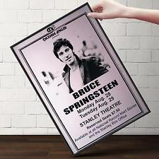 BRUCE SPRINGSTEIN CONCERT Poster | Cubical ART | Gifts For Guys | FREE Shipping