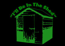 Shed T-Shirt Gardeners Allotment Shed Shed T-Shirt