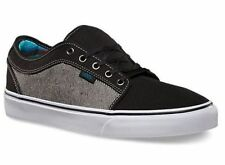 VANS Chukka Low (Reversed Denim) Black Men's Skate Shoes 11, 12, 13