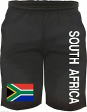 south AFRICA Bermuda Shorts with flag - black - Size M - XXL - trousers