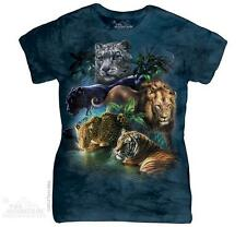 BIG JUNGLE CATS LADIES TEE THE MOUNTAIN