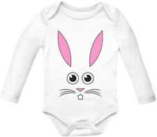 Little Bunny Easter Holiday Baby Grow Vest - Cute Baby Long Sleeve Onesie