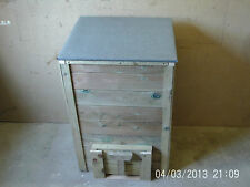 Wooden Coal Bunker Bespoke Coal Bunker Hand Made In Wiltshire