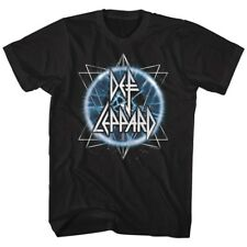 New Authentic Mens Def Leppard Electric Eye Tee Shirt Sizes S-3XL