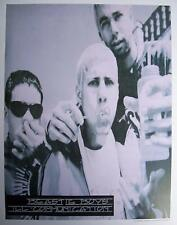 BEASTIE BOYS III COMMUNICATION CONCERT | Cubical ART | Gift | FREE Shipping