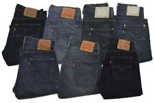 Levi's 514 Straight Fit Jeans Mens New Authentic Casual 00514 95914 96914