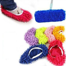 Hot 1Pc Chenille Floor Dust House Cleaning Slippers Mop Wipe Shoe Cover Mophead