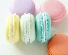 Lovely Candy Color Mini Macarons Jewelry Earrings Outing Storage Case Box Gift