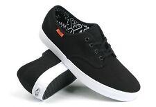 VANS Madero (Twill) Black Men's Authentic Classic Skate Shoes NEW