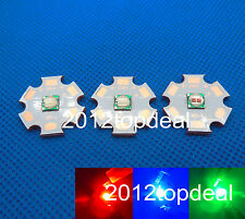 5W 5050 red green blue royal blue led High Power Led Emitter on 20mm copper star