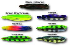 Santos Premium Replacement Trolling Lure Skirts Big Game OLC (Teaser S9)