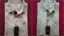 New With Tags A|X ARMANI EXCHANGE Polo T Shirt Mens Muscle Slim Fit Size S And M