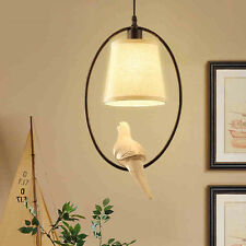 American country style resin bird LED Chandelier Restaurant Pendant Lights Lamps