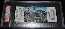 9-28-2003 SAN DIEGO PADRES LAST GAME @ QUALCOMM STADIUM FULL TICKET PSA ONLY 1!!