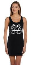 World's Bestest Mom Mother's Day Gifts Best Mommy Ever Tunic Dress Novelty