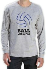 Volleyball - Ball Like a Pro Volleyball Fans Gift Idea Long Sleeve T-Shirt Cool