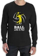 Volleyball Player Ball Like a Pro Gift for Volleyball Fans Long Sleeve T-Shirt