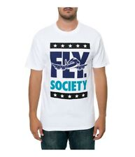 Fly Society Mens The Fly Block Graphic T-Shirt
