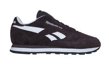 REEBOK CLASSIC SUEDE LEATHER SIZE 4 5 6 37 38 39 WOMENS TRAINERS PURPLE PLUM