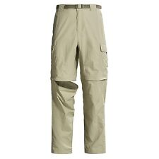 COLUMBIA MENS 36, 38, CONVERTIBLE PANTS HIKING CAMPING TRAIL SHORTS NEW