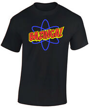 BAZINGA T SHIRT, ATOM - THE BIG BANG THEORY. GREAT GIFT - SHELDON COOPER