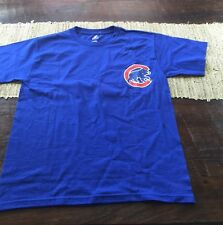 Youth Majestic Chicago Cubs Alfonso Soriano Blue T Shirt NWT MLB