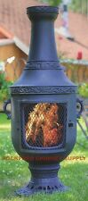 Wood Burning Outdoor Fireplace Venetian Chiminea