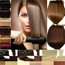 Super Sale Double Weft Clip In Remy Human Hair Extensions FAST SHIPPING EE108