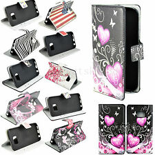 Stand Flip Wallet PU Leather Cover Case For Samsung Galaxy S6 Edge S5 S4 S3 J1