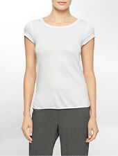 calvin klein womens cotton modal short sleeve top underwear