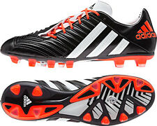 Adidas Predator Incurza Rugby Football Soccer Boots Black Wht Infra Red £160