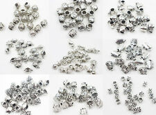 5/10Pcs Vintage Tibetan Silver Beads Charms Loose Spacer Beads Jewelry Findings
