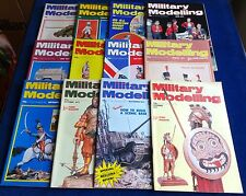 """MULTI-LIST SELECTION OF """"MILITARY MODELLING MAGAZINE""""  FROM YEAR 1977"""