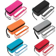 Carry Storage Bag Case with Rubber Skin Cover For Bose-Soundlink Mini/Mini II